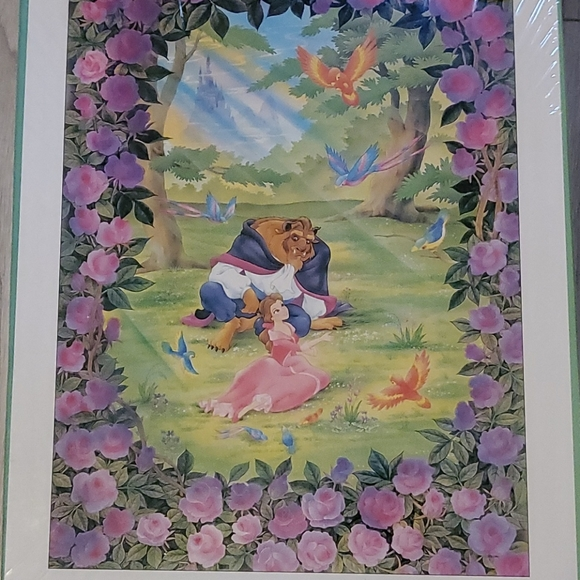 Disney Beauty and the Beast Jigsaw Puzzle
